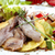 grillezett · tintahal · szelektív · fókusz · középső · hal · étterem - stock fotó © hanusst
