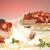 ízletes · epertorta · izolált · fehér · étel · háttér - stock fotó © hanusst