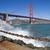 Golden · Gate · Bridge · vagues · San · Francisco · ciel · eau · route - photo stock © hanusst