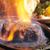 стейк · яйцо · таблице · нефть · мяса - Сток-фото © hanusst