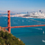 san francisco panorama w the golden gate bridge stock photo © hanusst
