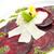 cékla · birka · sajt · közelkép · asztal · piros - stock fotó © hanusst