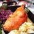 pato · vermelho · repolho · laranjas · clube · prato - foto stock © hanusst