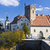 замок · Чешская · республика · Церкви · синий · рок · архитектура - Сток-фото © hanusst