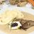 vesepecsenye · krém · tányér · hús · kés · étel - stock fotó © hanusst