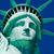 heykel · özgürlük · detay · ada · New · York · mavi - stok fotoğraf © hanusst