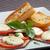 a · la · parrilla · hortalizas · mozzarella · queso · tomates · cherry · pimienta - foto stock © hanusst