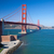 San · Francisco · Golden · Gate · Bridge · Californie · USA · ciel · ville - photo stock © hanusst