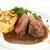 grillezett · vesepecsenye · bors · mártás · étel · étterem - stock fotó © hanusst