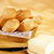 dos · baguettes · bandeja · trigo · desayuno - foto stock © hanusst
