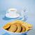 desayuno · granola · miel · negro · té · delicioso - foto stock © hanusst