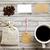 iş · kahve · kimlik · marka · ayarlamak - stok fotoğraf © happydancing