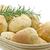 olive bread rolls in a bread basket stock photo © haraldmuc