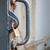 locker securing old iron door stock photo © haraldmuc