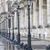 metallic retro lampposts in paris france stock photo © haraldmuc