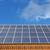 ソーラーパネル · 屋根 · 建物 · 太陽 · 家 · 水 - ストックフォト © haraldmuc