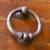 old metal door handle and knocker stock photo © haraldmuc