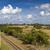 railroad track on the island of cuba stock photo © haraldmuc