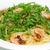 espaguetis · aislado · blanco · restaurante · verde - foto stock © haraldmuc