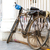 old bicycle in delhi india stock photo © haraldmuc