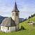 pequeño · iglesia · agradable · vista · lago · lado - foto stock © haraldmuc