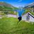tradicional · noruego · edad · pintoresco · lago - foto stock © harlekino