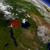 rwanda from space highlighted in red stock photo © harlekino