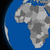 african continent on political earth stock photo © harlekino