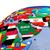 political middle east map stock photo © harlekino