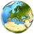 european continent on earth stock photo © harlekino