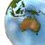 Wasser · Erde · isoliert · 3D · Bild · Business - stock foto © harlekino
