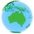 australia on earth stock photo © harlekino