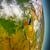 rwanda in red from space stock photo © harlekino