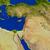 レバノン · 赤 · スペース · モデル · 軌道 · 3次元の図 - ストックフォト © harlekino