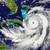 orkaan · ruimte · reusachtig · Florida · amerika · 3d · illustration - stockfoto © harlekino