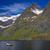 canoa · lago · montanha · esportes · verão · azul - foto stock © harlekino
