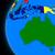 Австралия · политический · мира · иллюстрация · изолированный · белый - Сток-фото © harlekino