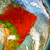 brazil in red from space stock photo © harlekino