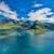 panorama · bruggen · antenne · schilderachtig · weg · eilanden - stockfoto © harlekino