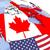 kanada · bayrağı · harita · Kanada · bayrak · üç · boyutlu · vermek - stok fotoğraf © harlekino