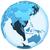 Délkelet-Ázsia · modell · Föld · 3D · kék · Föld - stock fotó © harlekino