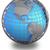 Föld · modell · izolált · fehér · Amerika · kilátás - stock fotó © harlekino