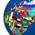 zászló · Európa · Föld · világ · földgömb · fókuszált - stock fotó © harlekino