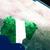 świecie · banderą · Nigeria · niebieski · odizolowany · biały - zdjęcia stock © harlekino