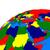 middle east region on earth political map stock photo © harlekino