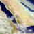 yemen eritrea and djibouti from space stock photo © harlekino