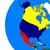 settentrionale · americano · continente · politico · terra · illustrazione - foto d'archivio © harlekino