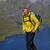 мужчины · турист · Постоянный · высокий · счастливым - Сток-фото © harlekino