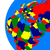 emea region on political globe stock photo © harlekino