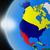 北 · アメリカ · スペース · メキシコ · カナダ · 表示 - ストックフォト © harlekino